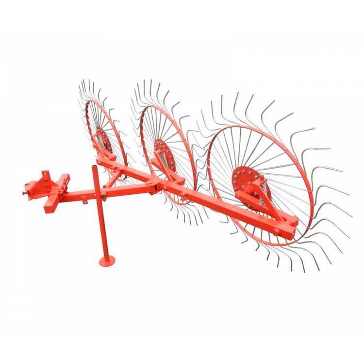Грабли колесно-пальцевые «Солнышко» на 3 колеса польские Бомет Bomet для мототрактора