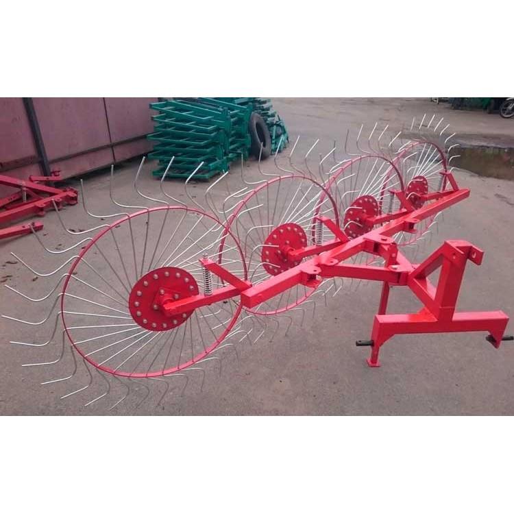 Грабли колесно-пальцевые «Солнышко» 4  ГВР-4