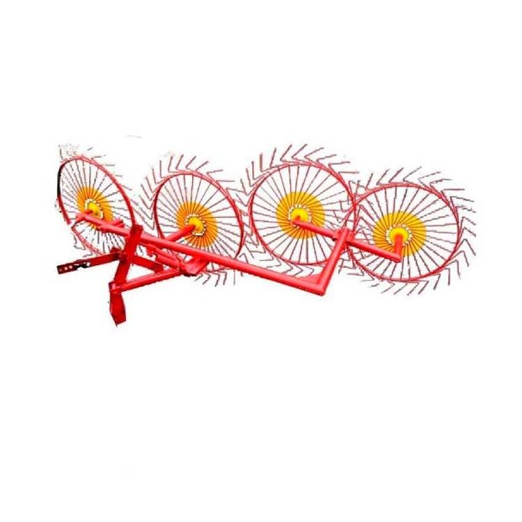 Грабли колесно-пальцевые «Солнышко» 4  ГВР-4 (Н)
