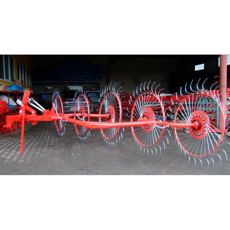 Грабли ворошилки Wirax Виракс 5 колес (Польша)