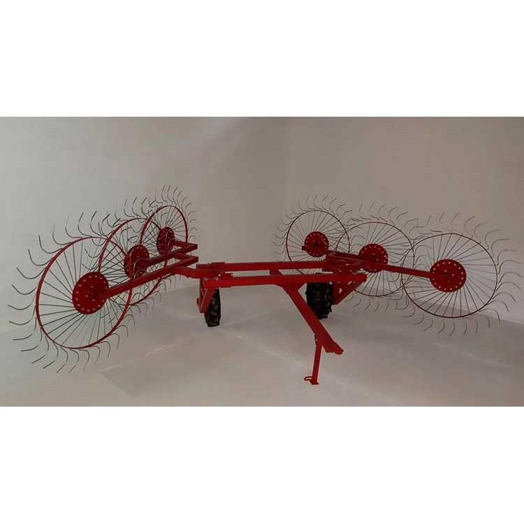 Грабли колесно-пальцевые «Солнышко» 6 колес ГВР-6