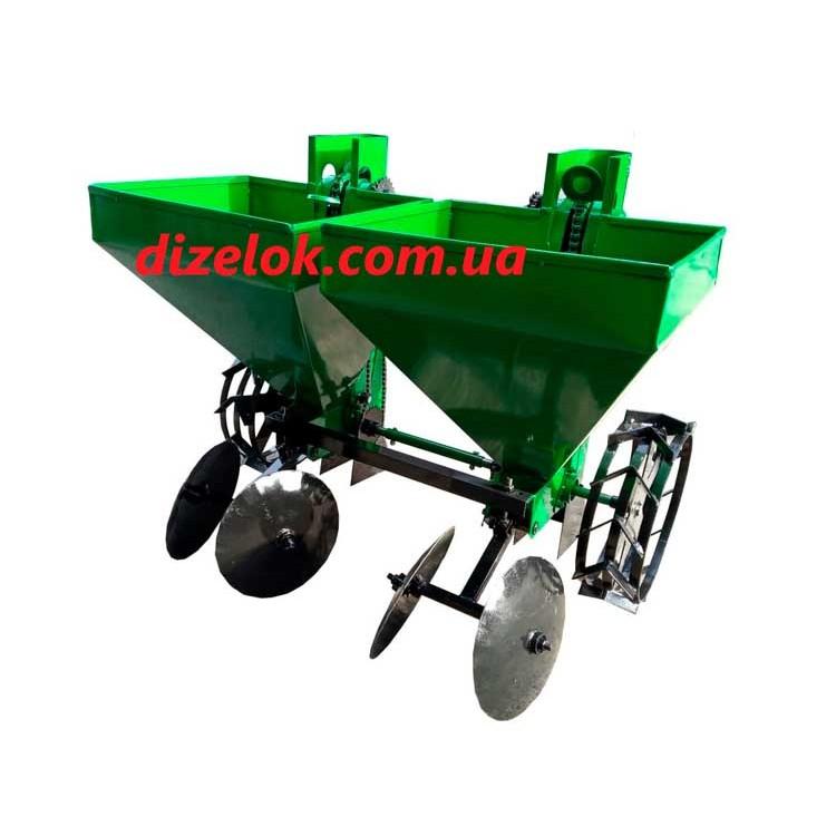 Картофелесажалка двухрядная Володар КСН-2МТ-110