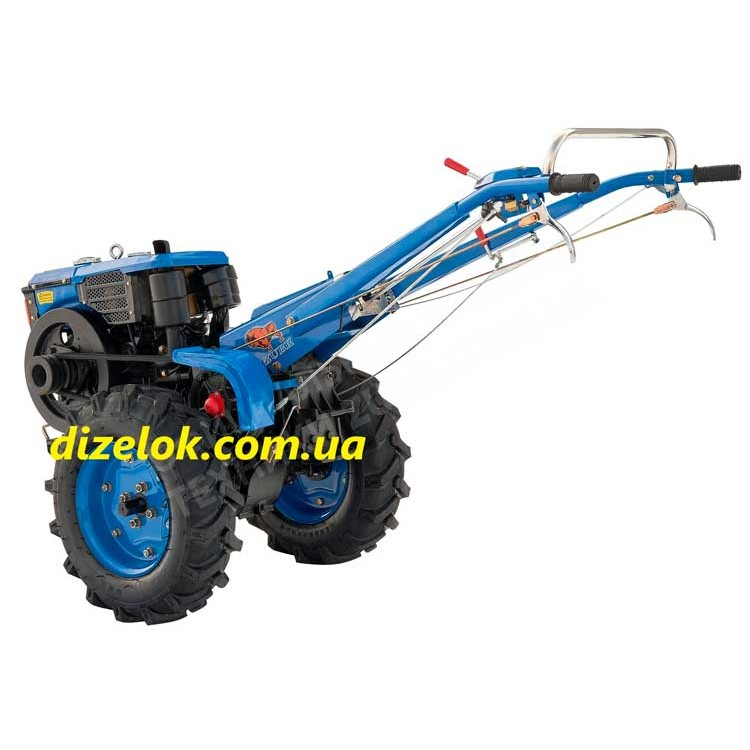Мотоблок Зубр JR-Q79-S с почвофрезой
