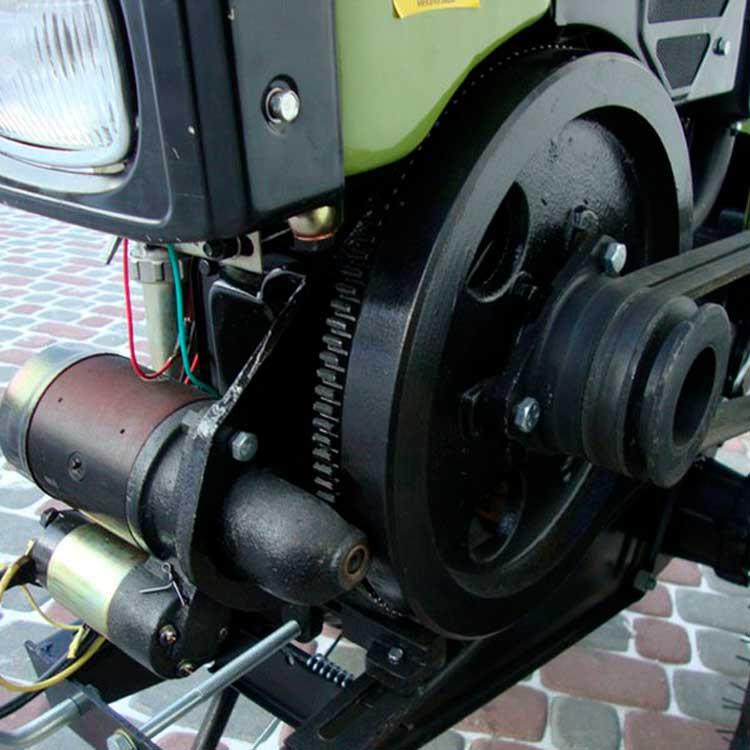 Минитрактор из мотоблока Зубр JR-Q78 8 л.с.